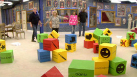 Celebrity Big Brother 2014 building blocks task
