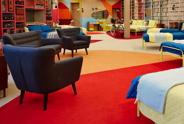 Big Brother 2013 Secrets And Lies house - bedroom