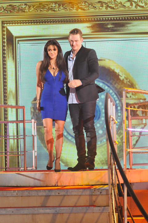 Celebrity Big Brother 2014 - Casey Batchelor and Lee Ryan fake evicted to the Bolt Hole