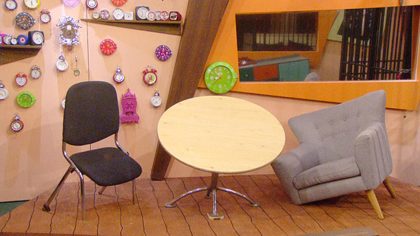 Celebrity Big Brother 2014 Democracy task - Lionel Blair and Luisa Zissman in The Most Annoying Room In The World